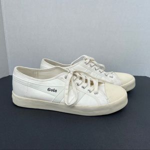 Gola off-white sneakers size 10